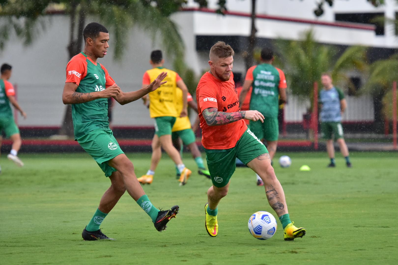 Verdão pronto para enfrentar o Vila Nova pela Copa do Brasil