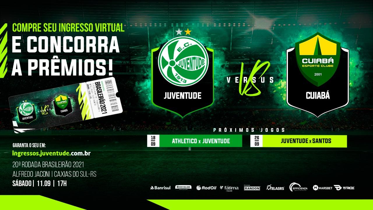 Adquira seu ingresso virtual para a partida contra o Cuiabá